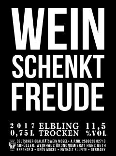 2017er Elbling trocken
