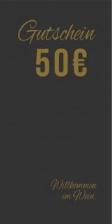 Gutschein 50,-