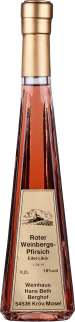 Roter Weinberg-Pfirsich Edel-Likör