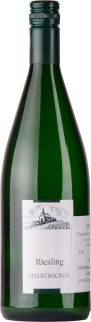 2019er Riesling Hauswein halbtrocken 1Liter