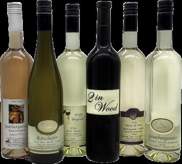Weinprobe trocken klein