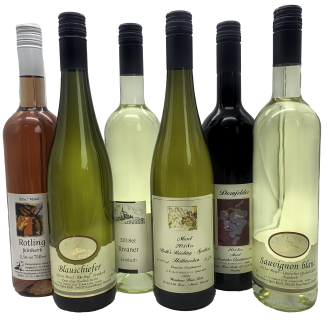 Weinprobe klein halbtrocken & feinherb